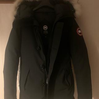カナダグース(CANADA GOOSE)のカナダグース ジャスパー ブラック XSサイズ(ダウンジャケット)