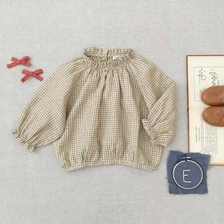 Caramel baby&child  - soor  ploom Ramona Blouse, Gingham