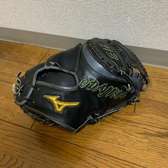 MIZUNO(ミズノ)のプロ選手 実使用 支給 ミット スポーツ/アウトドアの野球(グローブ)の商品写真