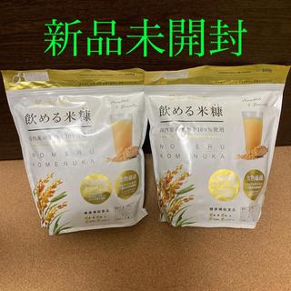 飲める米糠ファミリーパック 600g × 2袋 健康補助食品(その他)