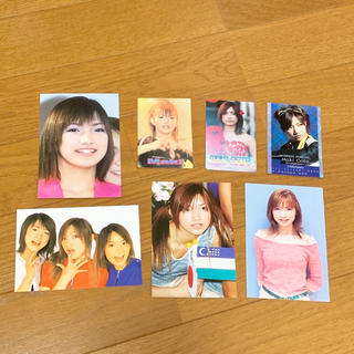 モーニングムスメ(モーニング娘。)の後藤真希 写真 カード(アイドルグッズ)