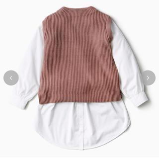 しまむら - ドッキングニットプルオーバー+付け裾(rinachishima)