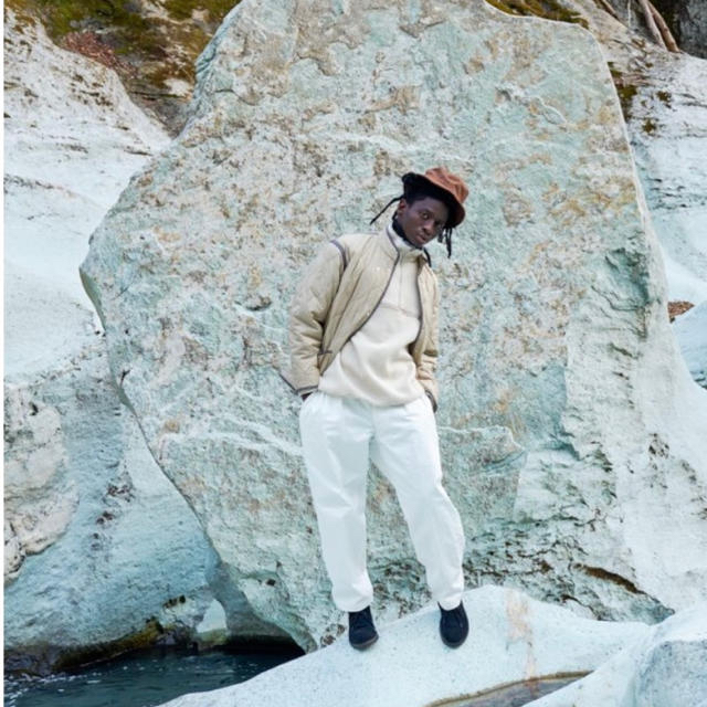 1LDK SELECT(ワンエルディーケーセレクト)のKAPTAIN SUNSHINE 20AWウールカシミヤフリースプルオーバー新品 メンズのジャケット/アウター(ブルゾン)の商品写真