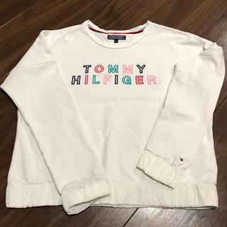 トミーヒルフィガー(TOMMY HILFIGER)のTOMY HILFIGER  ガールズスウェット 150センチ(Tシャツ/カットソー)