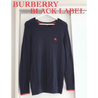 BURBERRY BLACK LABEL - 【美品】バーバリーブラックレーベル/ネイビー/サイズ2/Mサイズ
