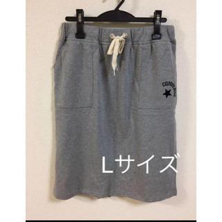 コンバース(CONVERSE)のコンバース スカート Lサイズ 新品タグ付き(ミニスカート)