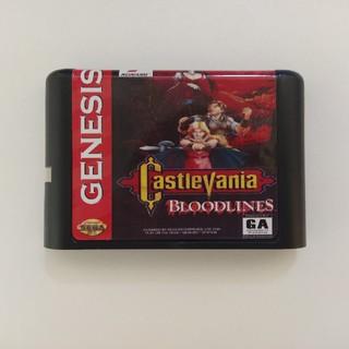 セガ(SEGA)のバンパイアキラー Castle Vania BLOODLINES 海外品 MD(家庭用ゲームソフト)