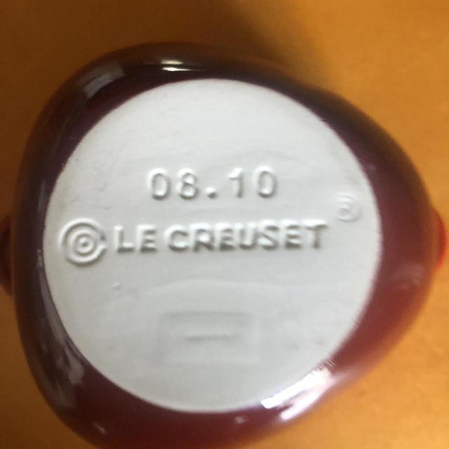 LE CREUSET(ルクルーゼ)のLE CREUSET ルクルーゼ レッド アップル ミニココット インテリア/住まい/日用品のキッチン/食器(調理道具/製菓道具)の商品写真