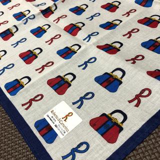 ROBERTA DI CAMERINO - 【新品未使用】ロベルタディカメリーノ ハンカチ スカーフ バッグ ロゴ 総柄