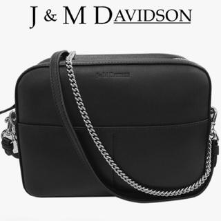 ジェイアンドエムデヴィッドソン(J&M DAVIDSON)の新品 J&M DAVIDSON PEBBLE デヴィッドソン ペブル ブラック(ショルダーバッグ)