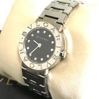 BVLGARI - BVLGARI ブルガリブルガリ BB23SS 12Pダイヤ腕時計