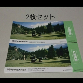 箱根彫刻の森美術館 招待券