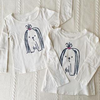 babyGAP - 双子★長袖トップス2枚セット