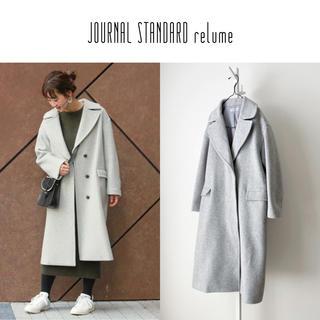 JOURNAL STANDARD - 美品 JS relume  チェスターオーバーサイズコート
