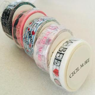 CECIL McBEE - CECIL McBEE マスキングテープ 5種セット【未開封】