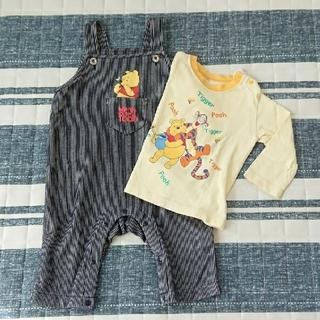Disney - Disney プーさんオーバーオール&Tシャツ(80セット販売)