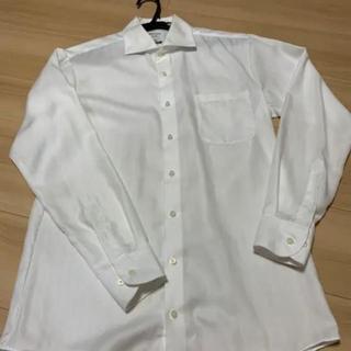 オリヒカ(ORIHICA)のORIHICAオリヒカスーパーノンアイロン シャツ 白 M長袖 2枚セット(シャツ)