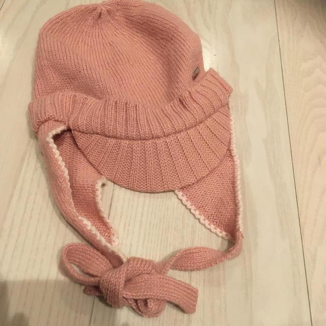 celine(セリーヌ)の新品未使用 セリーヌ CELINE ニット帽 キッズ/ベビー/マタニティのこども用ファッション小物(帽子)の商品写真