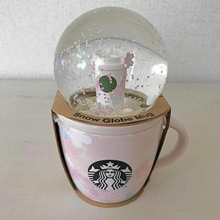 Starbucks Coffee - SAKURA2020スノーグローブ&マグ89ml