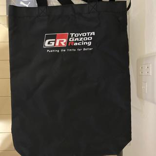 トヨタ(トヨタ)のtoyota gazoo racing トートーバッグ(ノベルティグッズ)