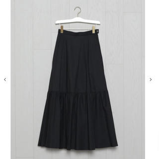 BEAUTY&YOUTH UNITED ARROWS - <H>TYPEWRITER CLOTH TIERED MAXI SKIRT