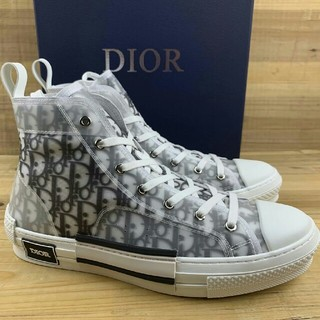Dior - Dior B23 Oblique High Top Sneakers27cm