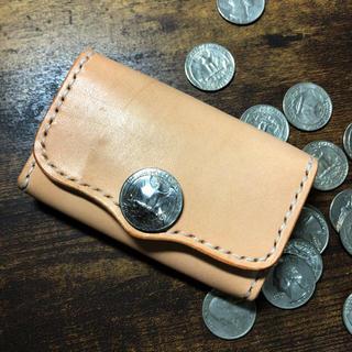 コインケース カードケース 革 ハンドメイド