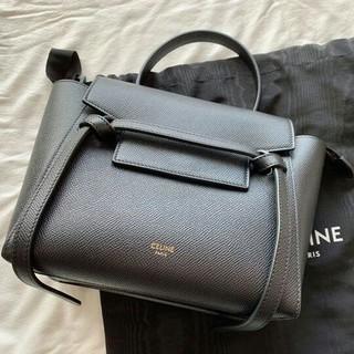 celine - 美品 セリーヌ ナノベルトバッグ