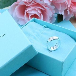 ティファニー(Tiffany & Co.)の☆新品☆未使用☆ティファニー 1837ロゴリング 7号(リング(指輪))