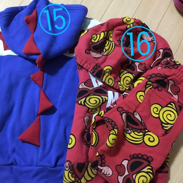 HYSTERIC MINI(ヒステリックミニ)のパーカー セトア キッズ/ベビー/マタニティのキッズ服女の子用(90cm~)(その他)の商品写真