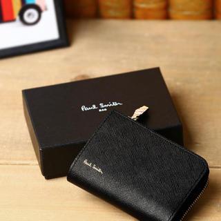 ポールスミス(Paul Smith)の新品未使用 ポールスミス マルチストライプ ジップストローグレイン キーケース(折り財布)