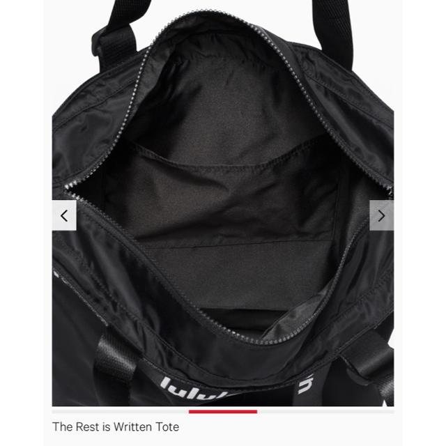lululemon(ルルレモン)のlululemon 撥水 トートバッグ 黒 レディースのバッグ(トートバッグ)の商品写真