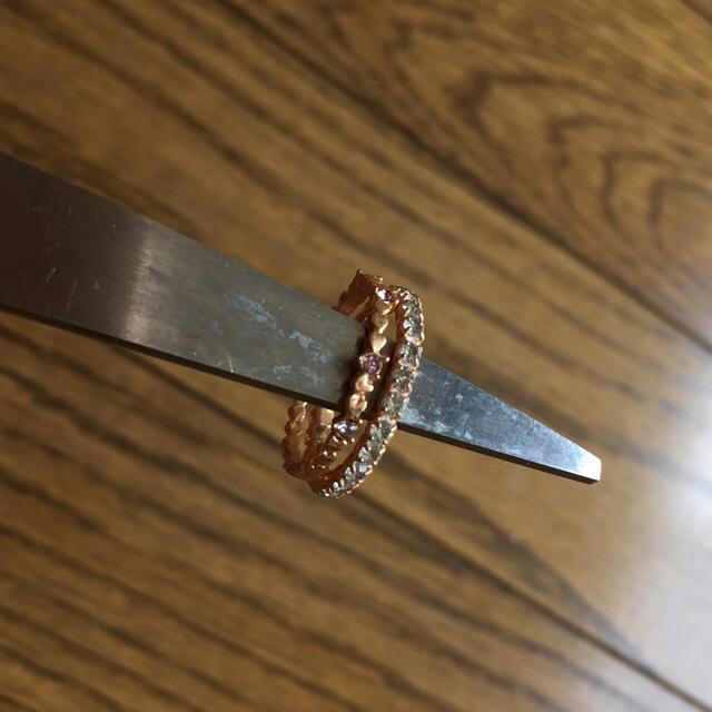 ピンキーリング☆ レディースのアクセサリー(リング(指輪))の商品写真