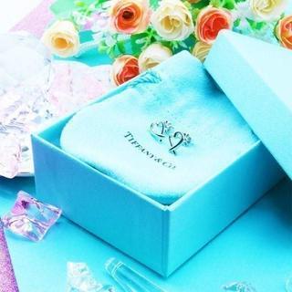Tiffany & Co. - ☆新品☆未使用☆Tiffany&Co. ティファニー ラビング ハート ピアス