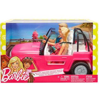 バービー(Barbie)のバービー ケン ビーチクルーザー barbie かわいい 車(ぬいぐるみ/人形)