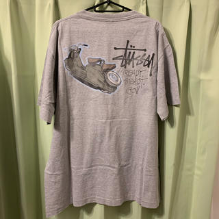 STUSSY - STUSSY Tシャツ READY STEADY GO USA 80s OLD