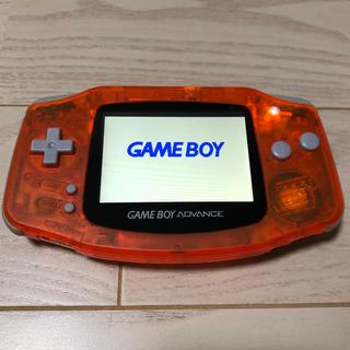 ゲームボーイアドバンス(ゲームボーイアドバンス)のゲームボーイアドバンス GBA(携帯用ゲーム機本体)