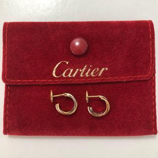 Cartier - カルティエ ピアス トリニティ Cartier スリーカラー YG750