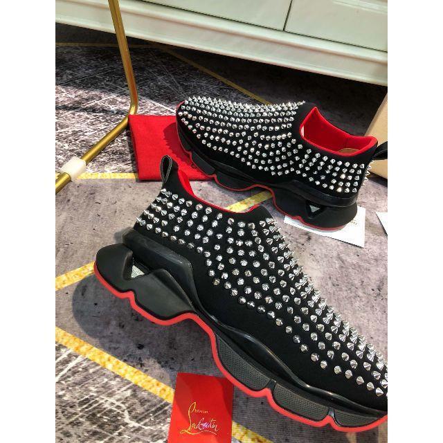 Christian Louboutin(クリスチャンルブタン)の大人気の 秋冬新型Christian Louboutin  スニーカー   レディースの靴/シューズ(スニーカー)の商品写真