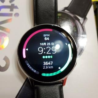 ギャラクシー(Galaxy)のGalaxy Watch Active2 シルバー 44mm(腕時計(デジタル))