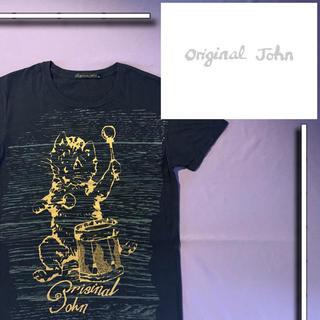 【レア品】 orijinal john 猫 cat s/s tシャツ