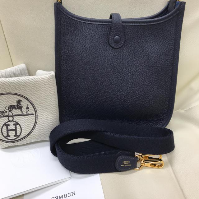 Hermes(エルメス)のエルメス♡エブリンtpm♡ブルーニュイ♡新品未使用♡レア レディースのバッグ(ショルダーバッグ)の商品写真