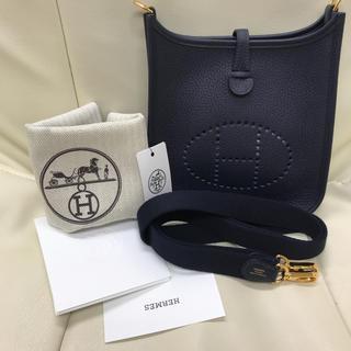 Hermes - エルメス♡エブリン16tpm♡ブルーニュイ♡新品未使用♡レア