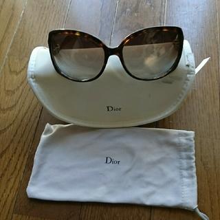 Dior - Dior サングラス【ハードケース・布袋付き】