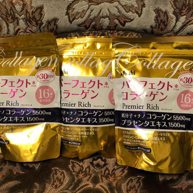 アサヒ(アサヒ)のアサヒ パーフェクトコラーゲン プレミアムリッチ 食品/飲料/酒の健康食品(コラーゲン)の商品写真