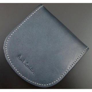 ポールスミス(Paul Smith)の新品/箱付 ポールスミス 高級レザー使用 コインケース ネイビー  (コインケース/小銭入れ)