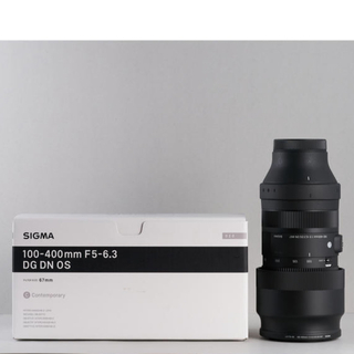 SIGMA - SIGMA 100-400 Eマウント SONY