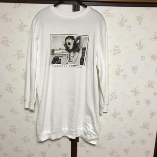 エイチアンドエム(H&M)の‼️H&M ロング丈Tシャツ.チュニック‼️美品です‼️(Tシャツ(長袖/七分))