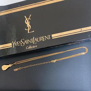 Saint Laurent - Yves Saint Laurent イヴサンローラン ビンテージロゴネックレス