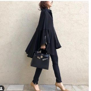 DOUBLE STANDARD CLOTHING - 11月1日迄お取り置き☆AKKO× Sov.ナイロンボンバーポンチョコート黒